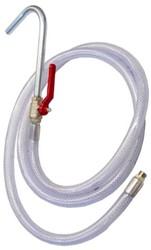 PVC slang met booguitloop voor hevelpomp