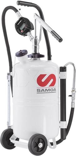 Mobiel Olieafgifteapparaat Handbediend - met meter