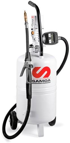 Mobiel Olieafgifteapparaat - met meter en pomp
