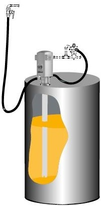 Pumpmaster 35 8:1 Oliepompset - vatmontage