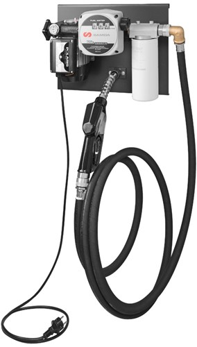 Elektrische Diesel Pomp Set - muurmontage