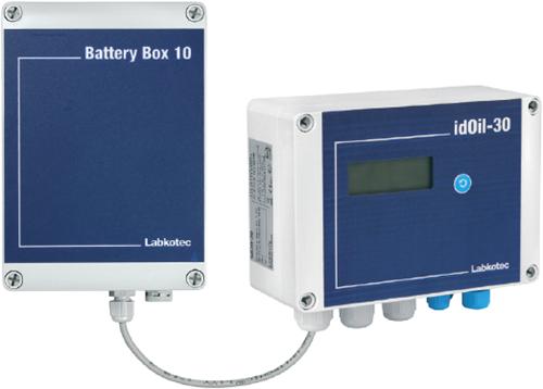 idOil-30 Battery bedieningspaneel los