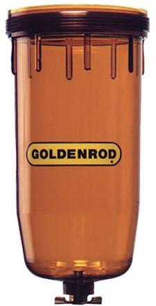 Goldenrod See-Thru losse vervangingsbol transparant