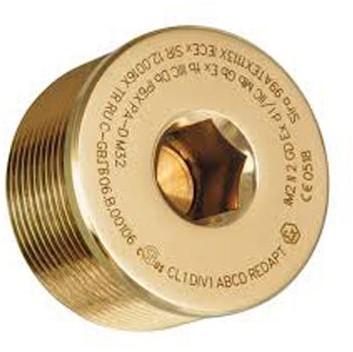 M25 Exd/Exe Brass Hexagonal Head Stopping Plug Type 757 CMP