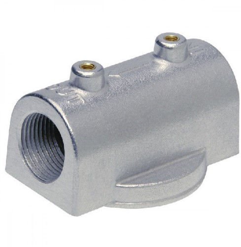 "CimTek filterhouder 200H aluminium 1"" bi dr."