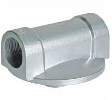 "CimTek filterhouder 810 aluminium 11/2"" bi dr."