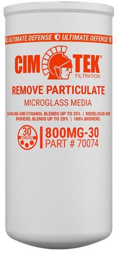 CimTek spin-on filterelement 800MG-30