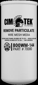 CimTek gaasfilterelement 800WM-144