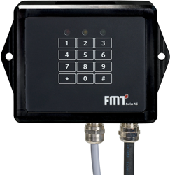 DIAL Electronisch tankslot met pincodes 230V