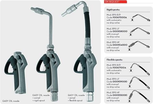 K400 EASY OIL Digitale handoliemeter vaste uitloop-2