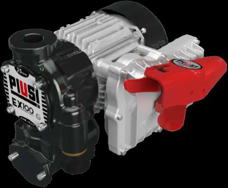 EX100 DRUM Vatpompen Benzine-en Diesel ATEX
