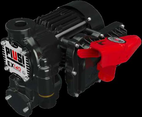 EX140 DRUM Vatpompen Benzine-en Diesel ATEX