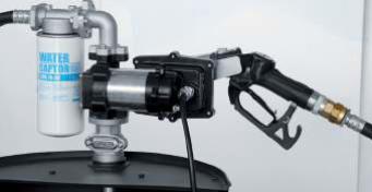 DRUM EX50  Vatpompset Benzine-en Diesel + meter Atex-3