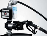 DRUM EX50 Vatpompset Benzine-en Diesel +meter Atex