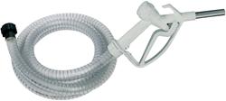 Suzzarablue vrije val losslang met manuele nozzle en IBC adapter