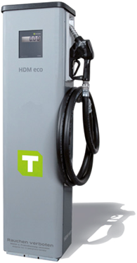 Diesel dispenser HDM 60 eco Liter counter, standard accuracy