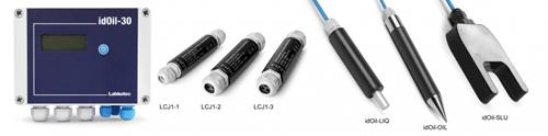 idOil-D30 OS RAIL oil/sludge Drijflaagdikte/Sludge Alarm OBAS-2