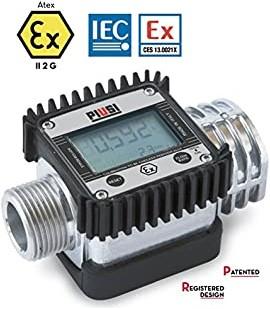 K24 Digitale doorstroommeter Benzine ATEX