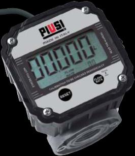 K600 B/3 Pulse Meter met display