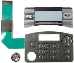 Toetsenbord met sleutelcontact Cube MC