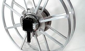 Slanghaspel Aluminium diverse afmetingen , bedieningsvormen-2