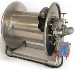 Slanghaspel serie N5I met Inwendige pneumatische motor