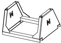 Frame voor Slanghaspel N5