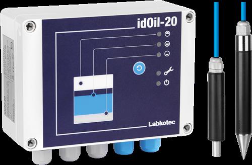 idOil-20 LO high level/oil  Drijflaagdikte/Opstuw alarm OBAS