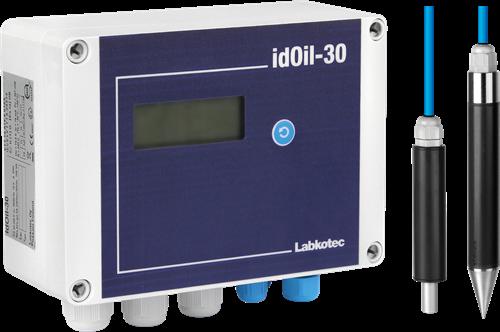 idOil-30 LO high level/oil Drijflaagdikte/Opstuw alarm OBAS