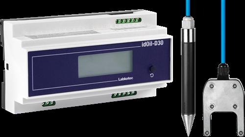 idOil-D30 OS RAIL oil/sludge Drijflaagdikte/Sludge Alarm OBAS
