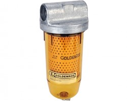 Goldenrod Fuel Filter 1 BSP 10 MU