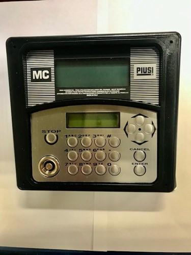 Piusi bedieningspaneel Self Service MC en MC Box 80 gebruikers