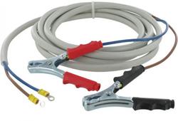 Kabelset met accuklemmen 12V/24V 2 meter