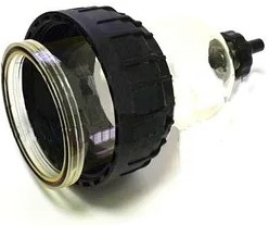Transparante bol clearcapter filter