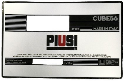 Plakvenster Cube 56 NEW