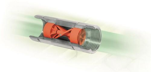 Turbinox Inline Pulse meter zonder display-2