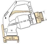 Elaflex ZV 500.2 High-Flow brandstofpistool 650 l/min -2